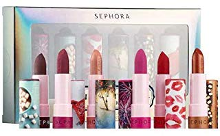 12 Shanghai Kiss - SEPHORA COLLECTION Midnight Kisses Storybook SET #LIPSTORIES Set: 12 Celebrate, 33 Wanderlust, 22 A Little Magic , 2 Landing in Shanghai and 51 Festival Lights