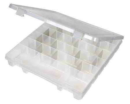 Adjustable Compartment Box, 15'' W x 14'' L x 2'' H