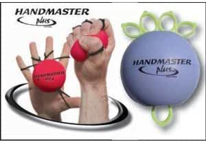 Handmaster Plus 3 Piece Physical Therapy Hand Exerciser (Colours May Vary) by Handmaster Plus
