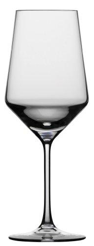 Purpose White Wine Glass (Schott Zwiesel Tritan Crystal Glass Pure Stemware Collection Cabernet/All Purpose, Red or White Wine Glass, 18.2-Ounce, Set of)