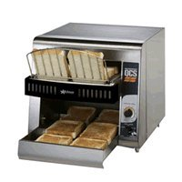 "Star Mfg. Compact Conveyor Bread Toaster w/ 1-1/2"" Opening"