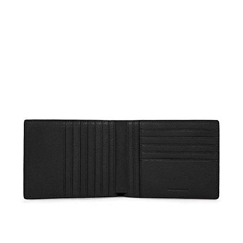 Piquadro Monedero, negro (negro) - PU1241S85/N