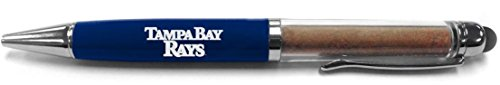 (Steiner Sports MLB Tampa Bay Rays Dirt Pen with Authentic Dirt from Tropicana Field)