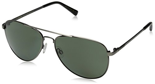 Veezee - Dba Von Zipper Farva Polar Polarized Aviator Sunglasses, Charcoal/Grey Poly Polar, 59 - Sunglasses Farva