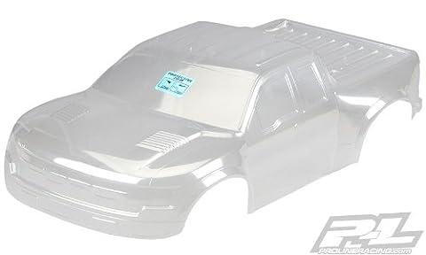 ProLine 338917 Pre-Cut True Scale Ford F-150 Raptor Svt Clear Body for Pro-2 Sc/Slash 4X4/SC10 (Proline Body Slash 4x4)