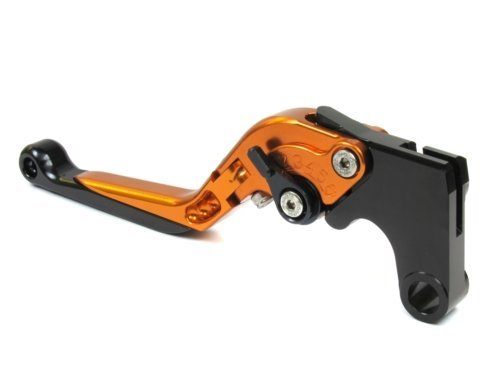 Moto-777 Manetas de Orange con Ajustadores Negro pour Hyosung GT250R 2006-2010