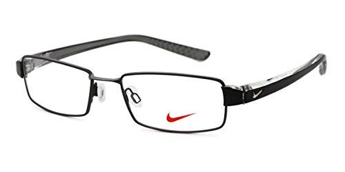 Nike Eyeglasses 8065 013 Matte Dk Gunmetal/Crystal Demo 51 17 145