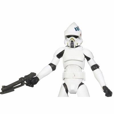 Star Wars Clone Wars 2010 Animated Figure ARF Trooper #18 ()