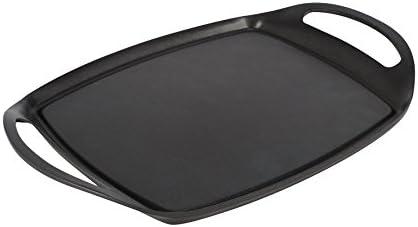 Crealys 513603 Plancha Fonte d'Aluminium Noir 36,2 cm