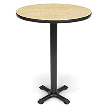 OFM XT36RD OAK Round Multi Purpose Table, 36u0026quot;, ...