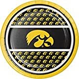 Club Pack of 96 NCAA University of Iowa Hawkeye Paper Party Luncheon Plates 7''