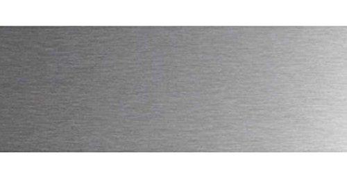 Plinthe protection bas de porte Lot 2 protections de porte inox 820 x 200 mm /à coller