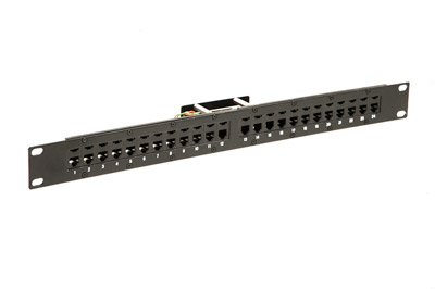 Telco Female Patch Panel - RJ11-6P2C - 1 RU - 24 ()