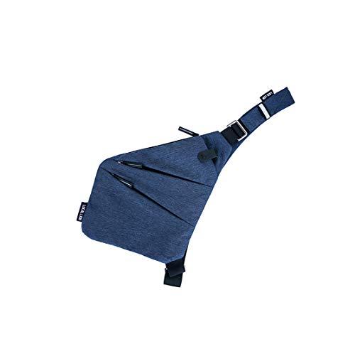 Layxi Hombre Deportes Universitarias Desgaste Del Resistente Mensajero De Oxford Casual Cruzado Al Impermeable Bolsa Bolso Bandoleras Pecho Azul Outdoor wEBaqSrEFZ