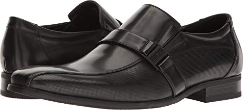 Kenneth Cole Unlisted Men's Beautiful Ballad Slip-On Loafer, Black, 11 M US