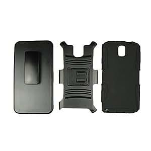 CECT STOCK El silicio y plástico caso del soporte de protección para Samsung Note3 , Amarillo