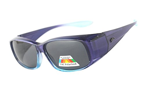 Fit Over Unisex Polarized Sunglasses to Wear Over Regular - Prescriptions Sunglasses