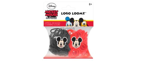 Disney Mickey Mouse Loom Bands and Charm Pack (200 Bands, 6 Clips and 1 Charm) ()