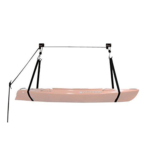 Extreme Max 3004.0204 Kayak / Canoe / Bike / Ladder Hoist & Lift for Storage in Shop or Garage;120 lb. Capacity / Lifetime Warranty (Bicycle Storage System)