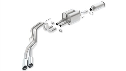 Borla 140404 Stainless Steel Touring Cat-Back Exhaust System ()