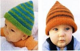 Striped Bell, Felted Hat Knitting Pattern (Knitting Hats Felted)