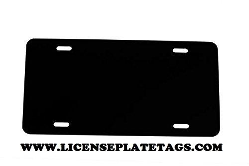 Custom Aluminum License Plate - 4
