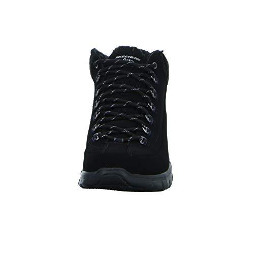 nbsp;winter Ankle Nights Nero Synergy Skechers Boots Women's UpxR0a