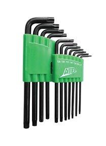 Arm Torx - ATD Tools ATD-586 Long Arm Torx Key Set 11 Piece