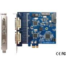 GeoVision GV900-16 Channel 240 fps DVR Card: PCI-E, Type A, DVI, 3yr warranty
