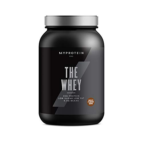 Myprotein, Chocolate Fudge, 2.2 lbs (30 Servings), THEWHEY Ultra-Premium Tri Blend with Digezyme and Aminogen