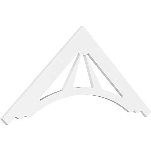 (Ekena Millwork GPP060X025X100STA Gable Pediment 60