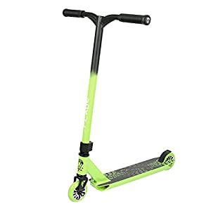 """Vokul TRII S Freestyle Tricks Pro Stunt Scooter - Best Entry Level Pro Scooter - 20""""W23.2""""H CrMo4130 Chromoly Handlebar - Reinforced 20""""L4.1""""W Deck,Integral Stable Performance"""