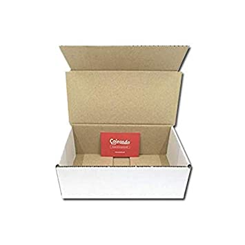 Pack de 100 Cajas de Cartón Automontables en Canal Simple y Color Blanco. Para Mudanzas