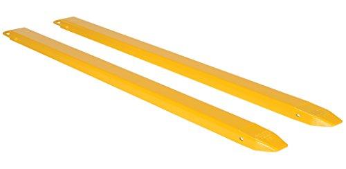 Vestil FE-4-84 Steel Fork Extensions, Accommodates 4