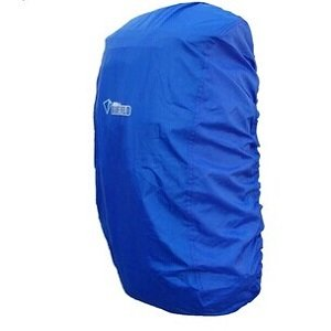 AIRLUT Blue Color Nylon Backpack Rain Cover for Hiking Camping Traveling (Size: L)