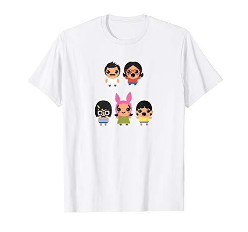 Bob's Burgers Kawaii Family T Shirt T-Shirt