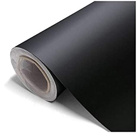 Vinilo negro mate, alta calidad, para interior y exterior. medida 60 cm ancho (3 metros): Amazon.es: Bricolaje y herramientas