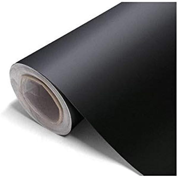 Vinilo negro mate, alta calidad, para interior y exterior. medida ...