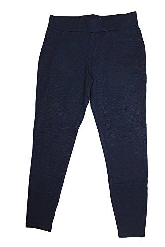 (Matty M. Women's Ponte Legging Pants with Back Pockets (X-Small, Cadet (No Seams)))