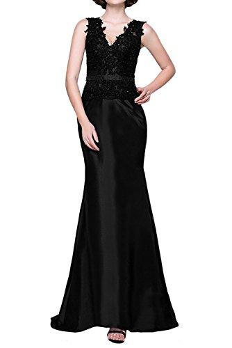 アイザックペイン適切な(ウィーン ブライド) Vienna Bride ロングドレス マーメイド イブニングドレス Vネック レース アップリケ ウエディングパーティー