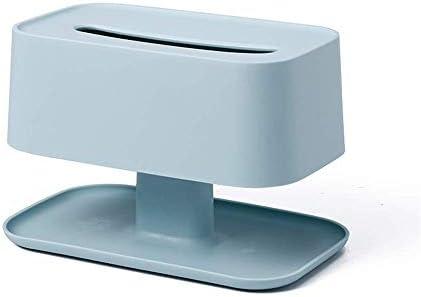 YKJ-YKJ ベースヨーロピアンスタイルのABSと家庭用ティッシュボックスカバー長方形のティッシュボックス - スナック紙タオルの収納ボックスハイグレード防水ナプキンホルダー22.5x13.5x15cm青の上に配置することができます ティッシュボックス