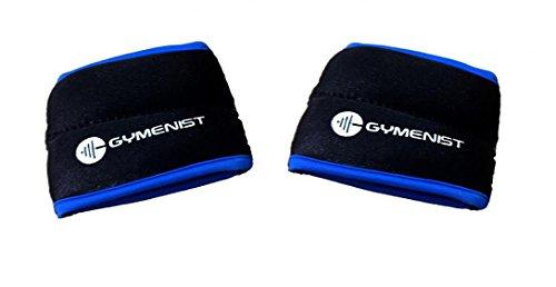 GYMENIST Wrist Weights Running Stylish Bracelet Pair of Weights Set of 2 (2 LB)