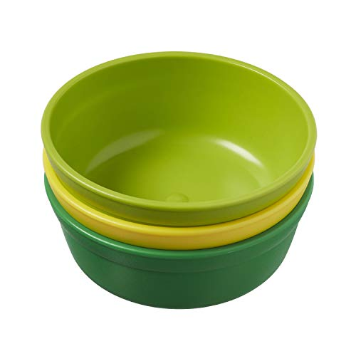 31U6SsKTTmL - ECR4Kids My First Meal Pal Snack Bowls – BPA-Free, Dishwasher Safe, Stackable Bowls For Baby, Toddler And Child Feeding - 3-Pack, Citrus
