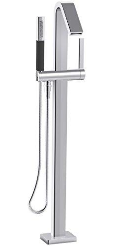 KOHLER K-T97330-4-CP Bath Filler with Hand Shower, 1, Polished Chrome