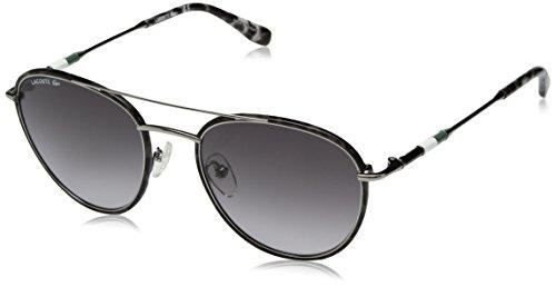 Metal Novak Sunglasses Lacoste L102snd Mm Gunmetal 51 Men's Collection Djokovic Oval Capsule r8IIxEn4U