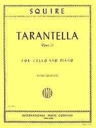 Squire: Tarantella Opus 23 for Cello and Piano (Pierre Fournier)