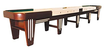 20 foot table rectangle venture 20 foot black river chicago shuffleboard table amazoncom