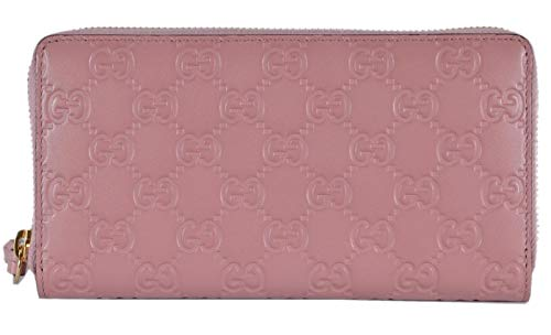 Gucci Wallet GUCCISSIMA BREE Fall/Winter 2015/2016 Peonia Purple Leather New ()