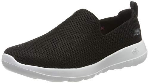 Skechers Women's Go Walk Joy Walking Shoe,black/white,7 M US