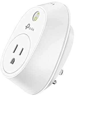 TP-Link HS110 WiFi Smart Plug w/Energy Monitoring No Hub Required, Works with Alexa Echo & Google Assistant, 1-Pack, White